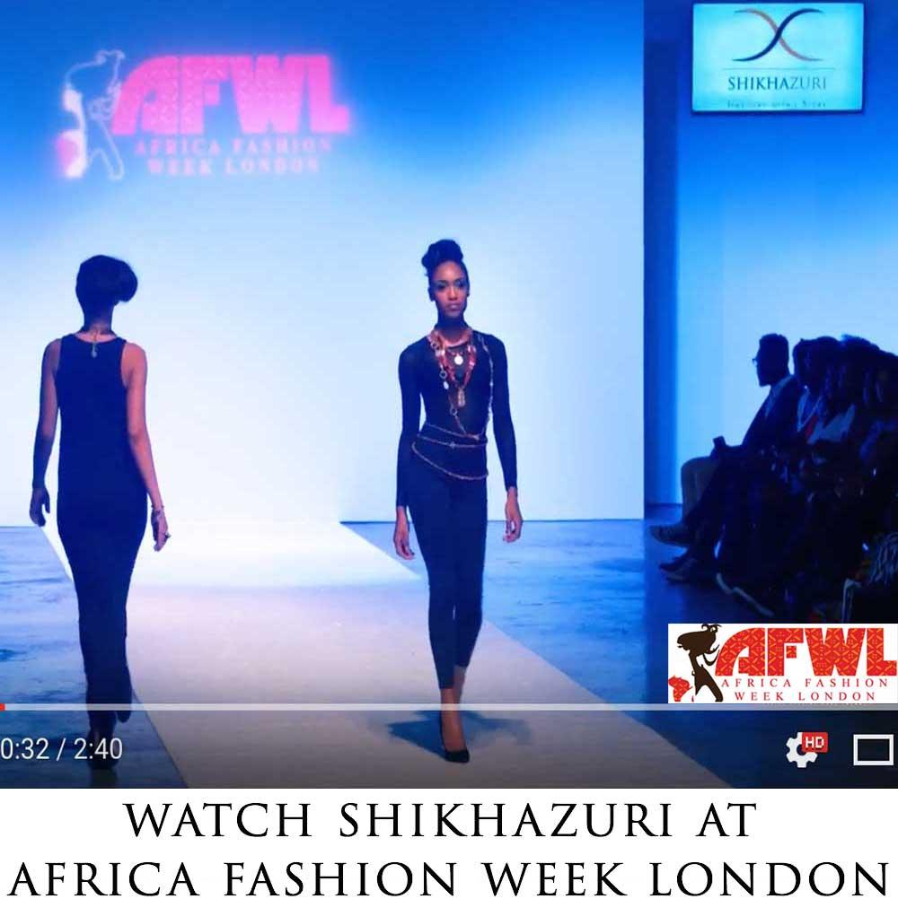 SHIKHAZURI at Africa Fashion Week London 2016