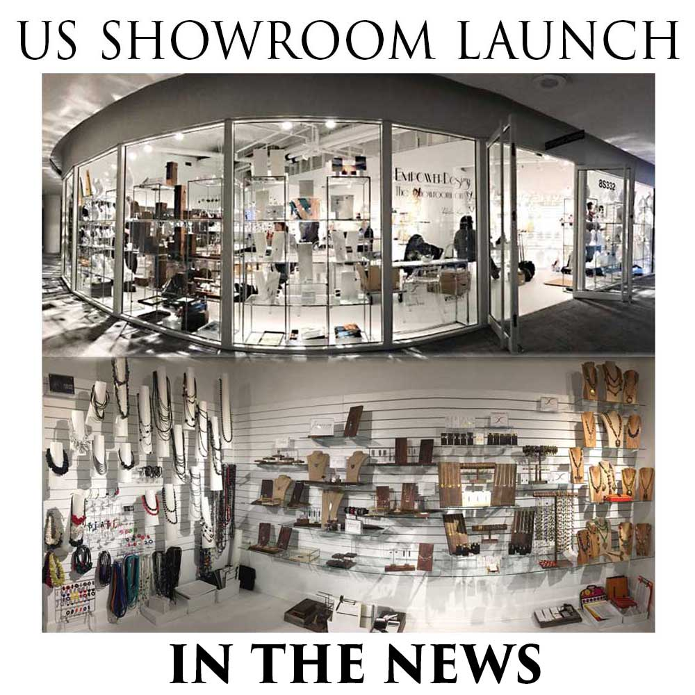 US Showroom launch news by SHIKHAZURI