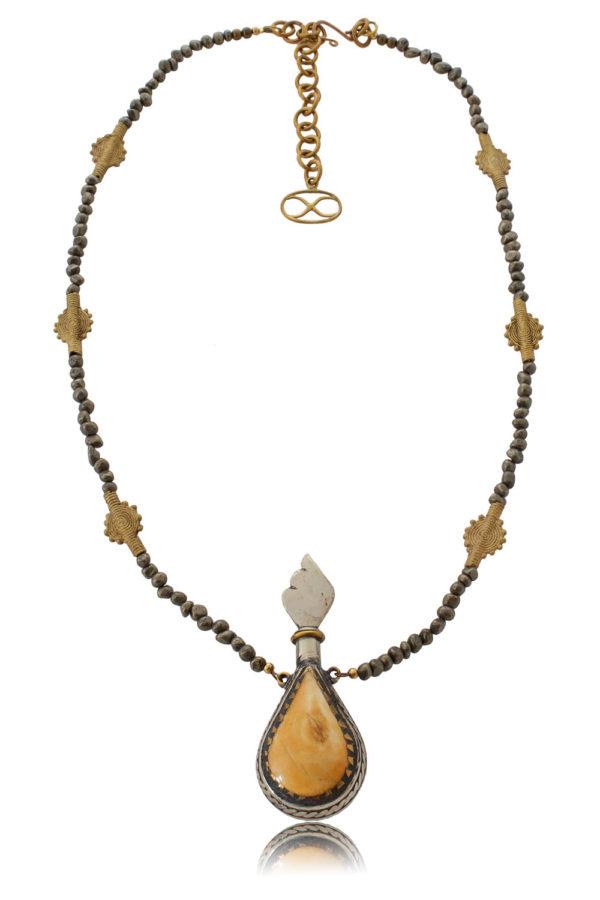 Unique Ethnic Pendant Necklace by SHIKHAZURI