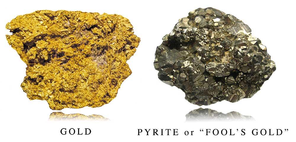 Gold vs Pyrite