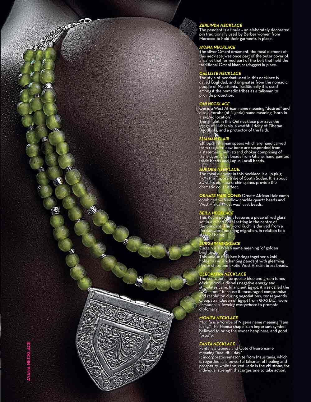 Healthy Woman Kenya Magazine - SHIKHAZURI Jewellery