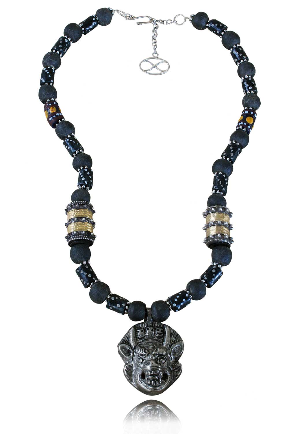 Satori Tibetan Amulet Necklace by SHIKHAZURI