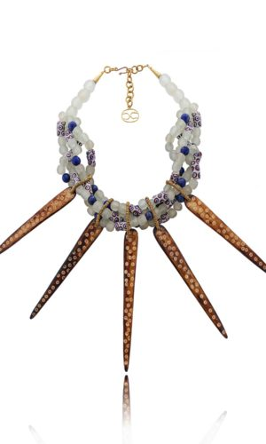 Statement African Tribal Necklace by SHIKHAZURI