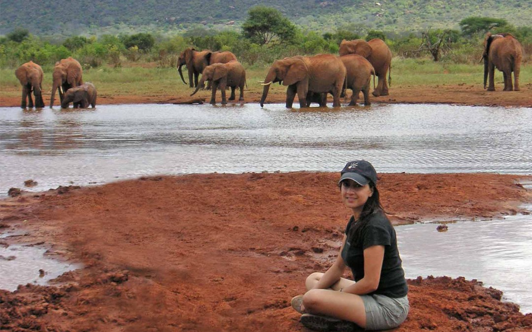 Shikha with Tsavo Elephant Legends SHIKHAZURI