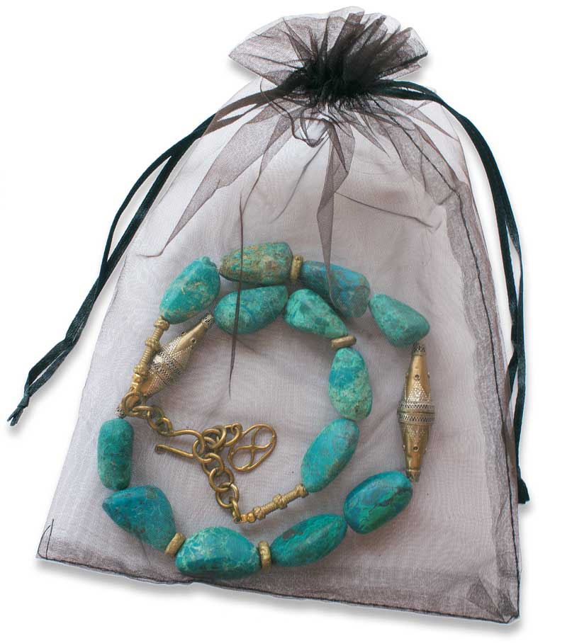Necklace in Pouch SHIKHAZURI