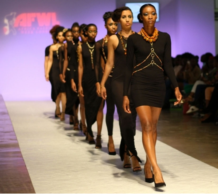 SHIKHAZURI catwalk jewellery Africa Fashion Week London