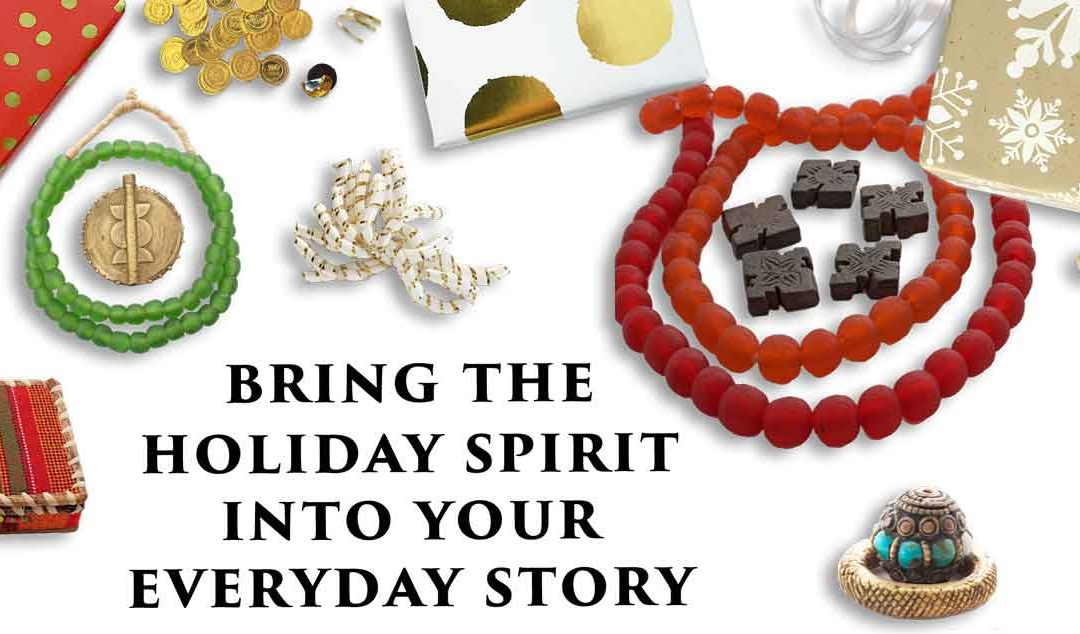 Infuse the Holidays into Your Everyday Story