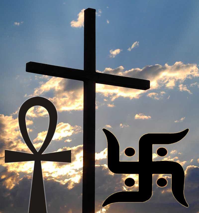 Different Religious Cross Symbols