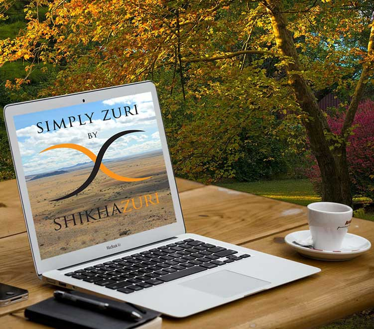 Simply Zuri website
