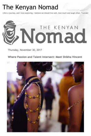 THE KENYAN NOMAD