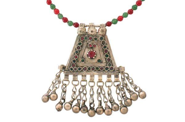 Bellamira Kuchi Tribal Pendant by SHIKHAZURI