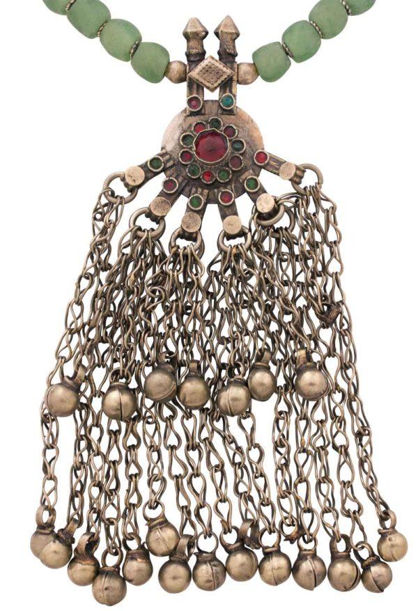 Kalliyanei Statement Kuchi Pendant Ghungrus Pendant by SHIKHAZURI