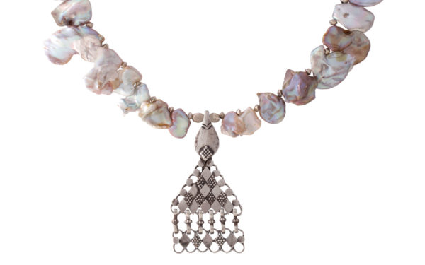 Kiyomi Omani Silver Ornament by SHIKHAZURI