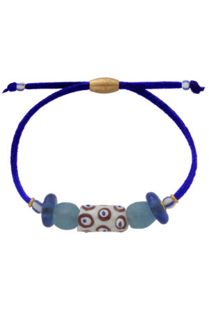 Samawati Blue Nadira Bracelet by SHIKHAZURI