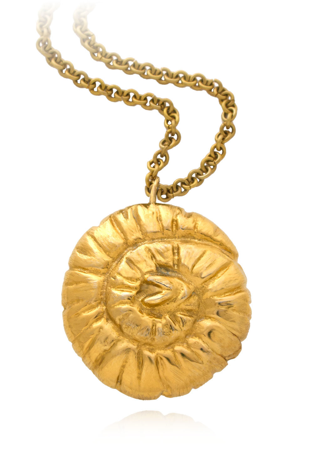 Spiralled Opulence Trunk Necklace by SHIKHAZURI