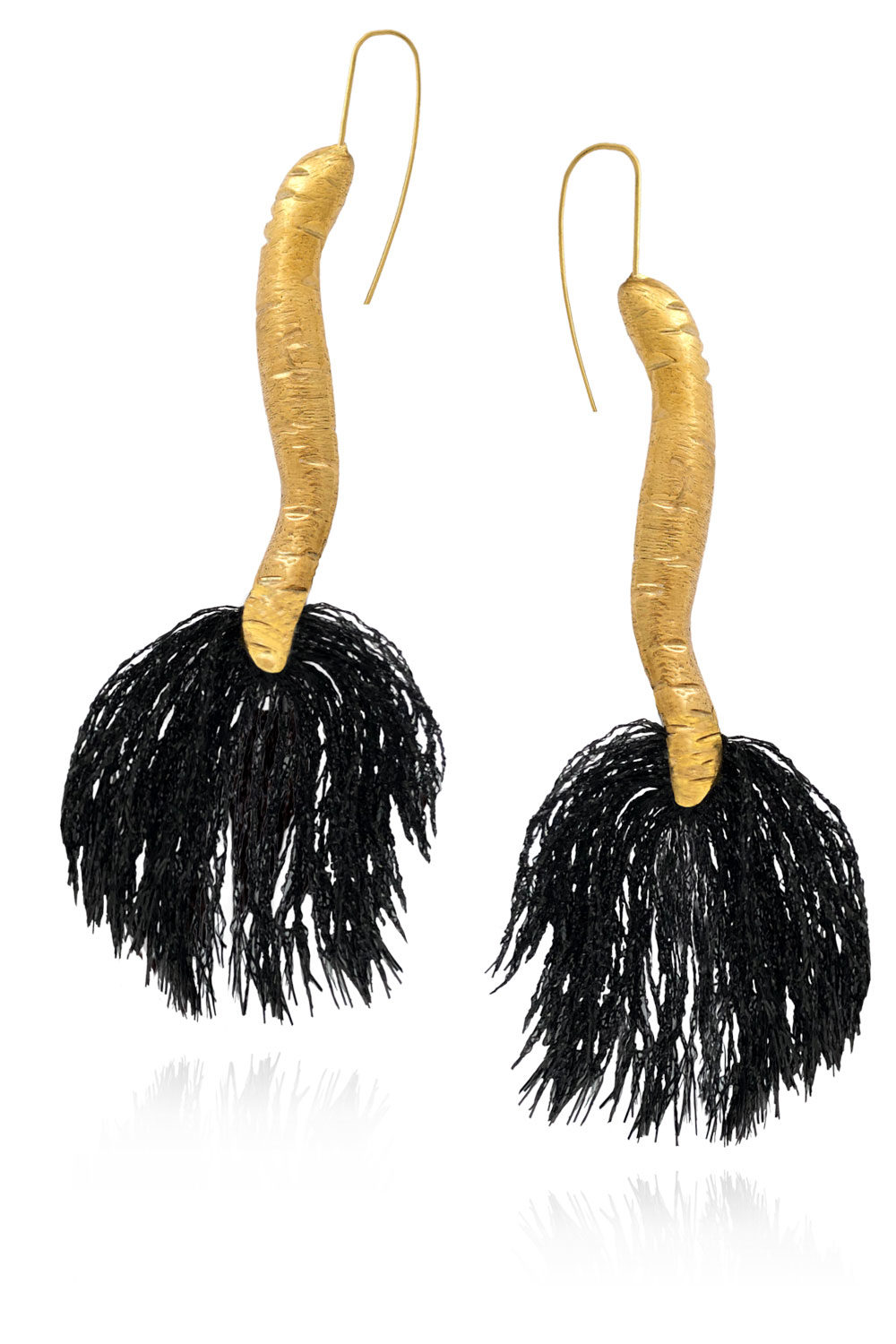 Tassel Tail Earrings Tembo Collection by SHIKHAZURI