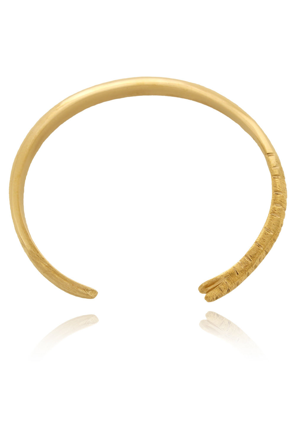 Trunk to Tusk Cuff Bangle by SHIKHAZURI