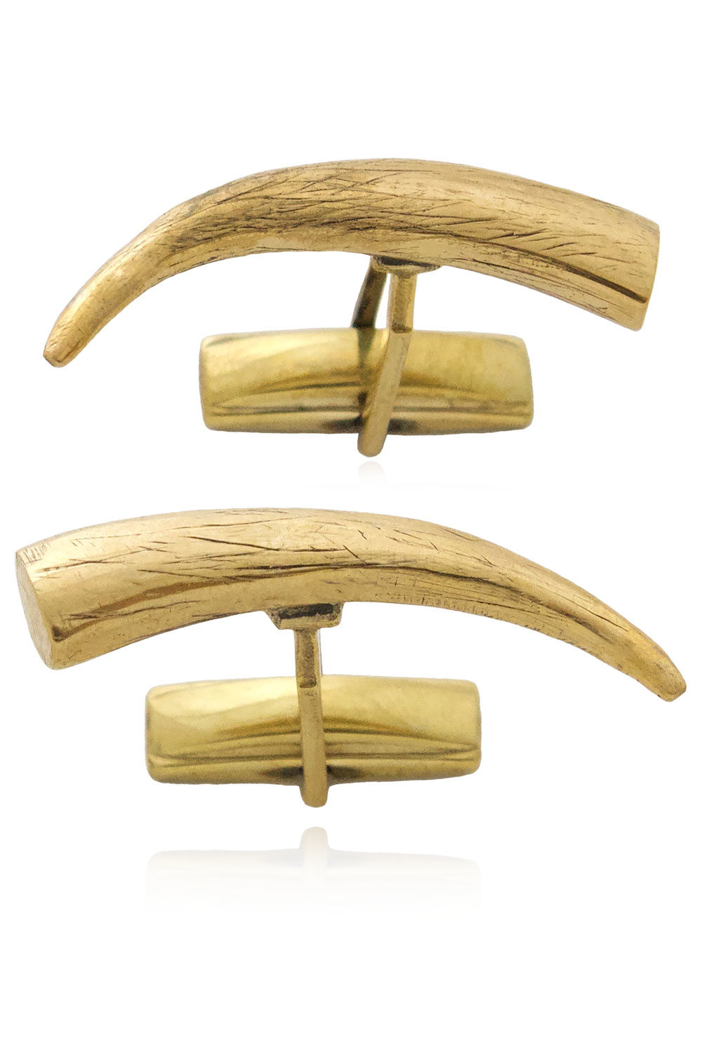 Tusk Cufflinks by SHIKHAZURI Tembo Collection