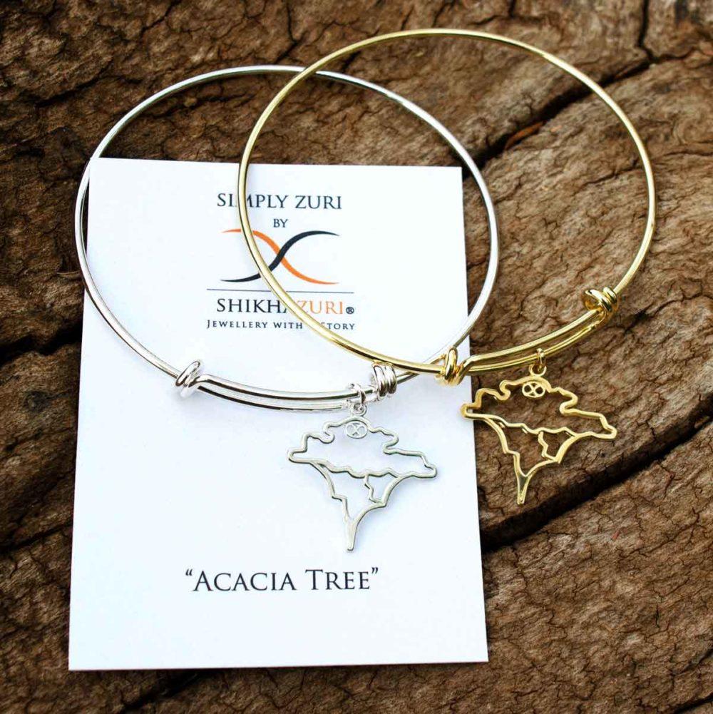 Acacia Bangles Carded Simply Zuri by SHIKHAZURI