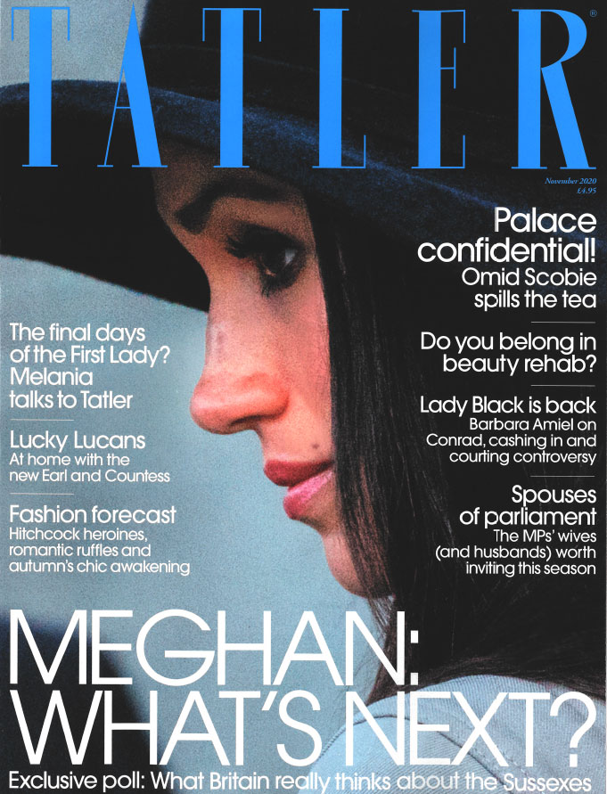 Tatler Magazine November 2020 cover