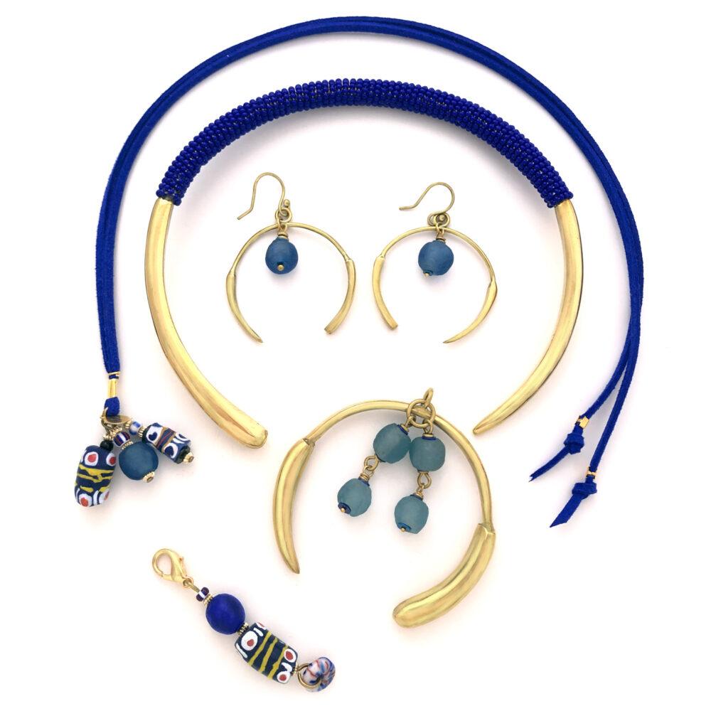 Blue Aza Collection Flatlay by Shikhazuri