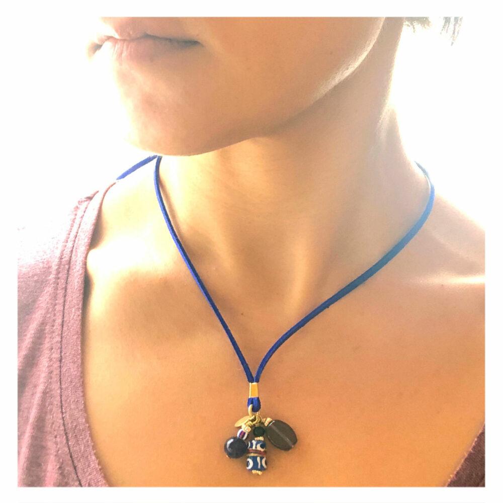 Blue-Bookmark-Necklace-Worn