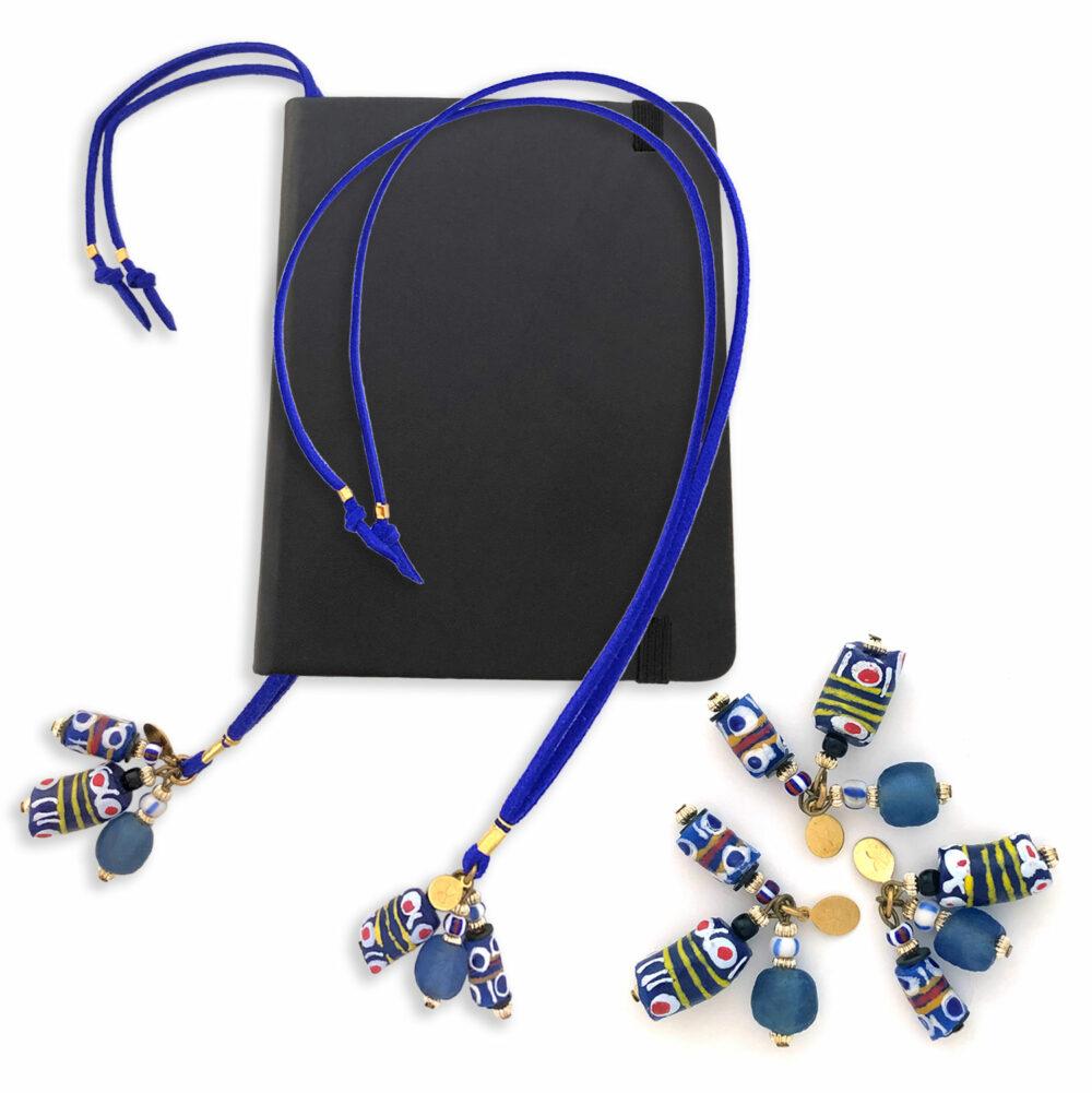 Blue-Bookmark-Necklaces-Shikhazuri