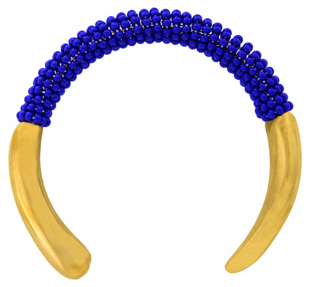 Kenya-Artisan-Blue-Bangle-SHIKHAZURI